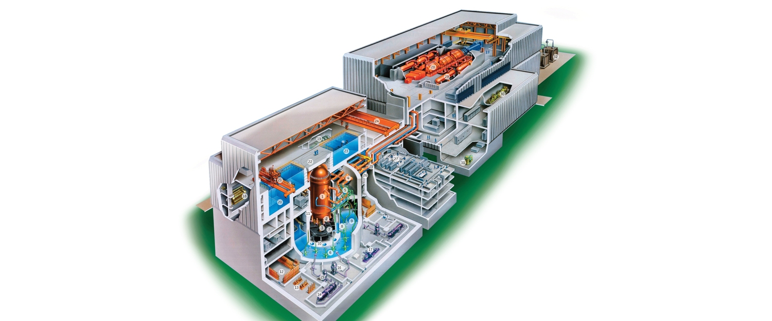 Abwr Nuclear Power Plant Ge Hitachi Energy General Layout
